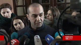 Հրայր Թովմասյանի տանը ոչինչ չի հայտնաբերվել. Ամրամ Մակինյան
