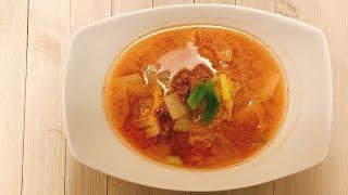 소고기 배추국, sogogi baechuguk, beef and cabbage soup [COOKHAJA]