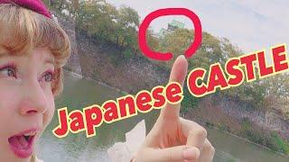 JAPAN explore LIVE! Let's climb Osaka castle grounds together!