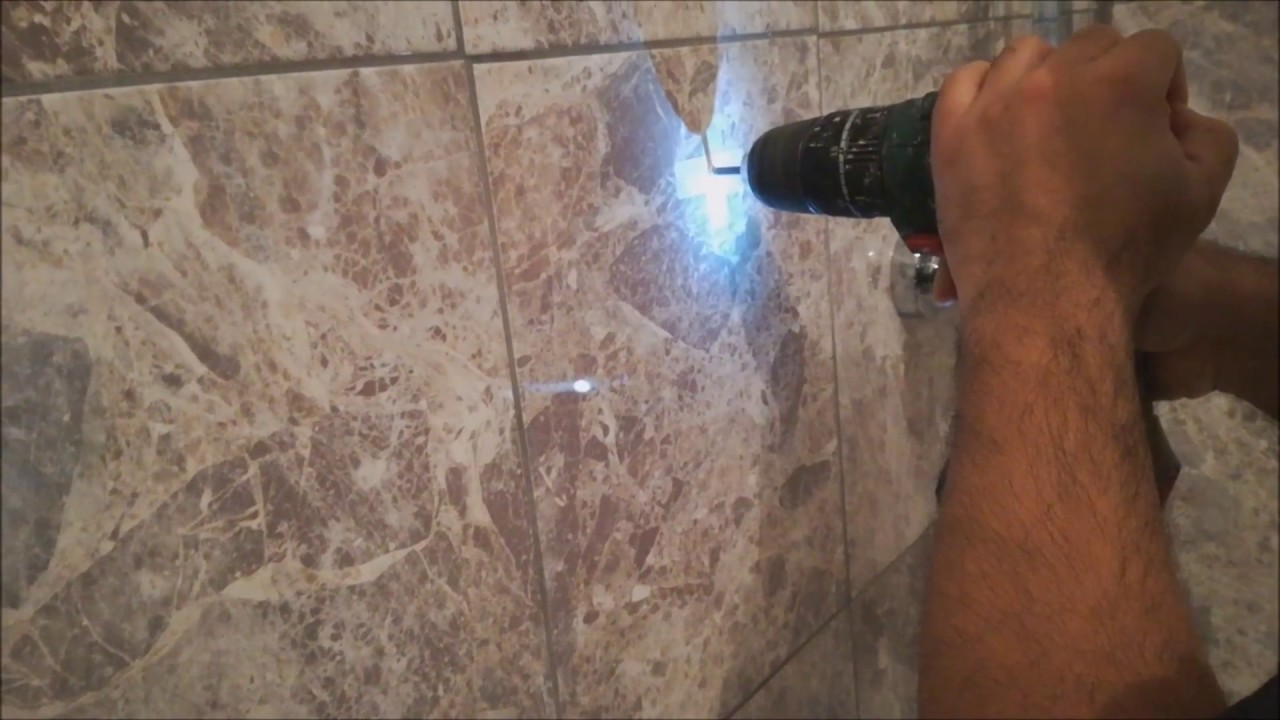 How to drill into ceramic tiles youtube how to drill into ceramic tiles dailygadgetfo Image collections