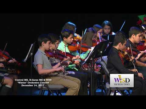"""CMS, BGMS & WHS """"Winter"""" Orchestra Concert - 12/14/17"""