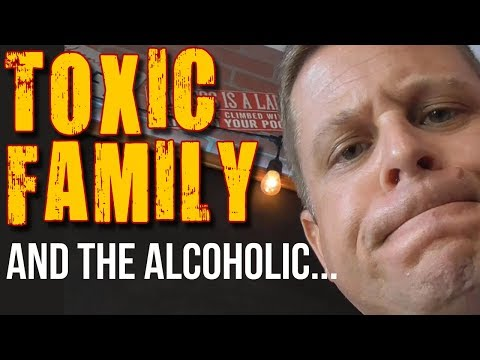 Drinking, Alcoholism & Toxic Family Relationships – how to deal with difficult family members