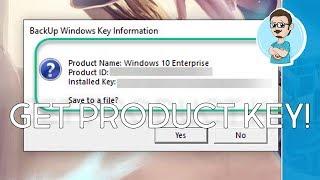 Get Windows 10 Product Key!
