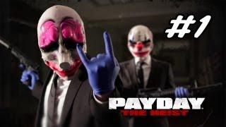 Payday the Heist Bölüm 1 | ELEKTRIK SOKU