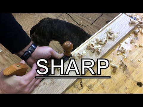 WOODWORKING,SHARPEN THE TOOLS