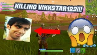 My Squad Killing Vikkstar123 Muselk and Lachlan!!!!