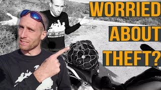 A Better Way to Secure Your Gear (From Theft) For Motorcycle Travel  - PacSafe