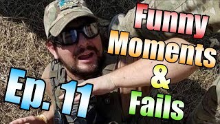 SHOT IN THE HEAD WITH A GRENADE LAUNCHER! [Airsoft Funny Moments and Fails Ep. 11]