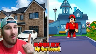 ROBLOX - GETTING MY NEW HOUSE!!!