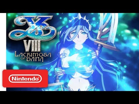 Ys VIII: Lacrimosa of DANA - Embark on the Ultimate Adventure! - Launch Trailer - Nintendo Switch