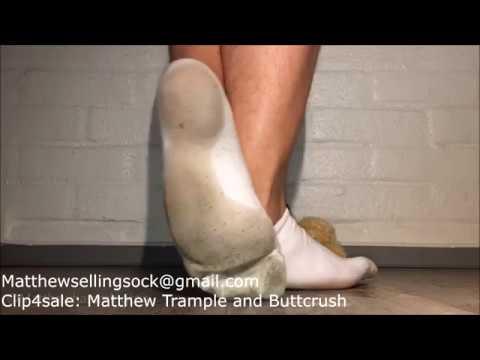 Trample Teddy Slave Sock/Barefeet
