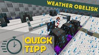 Ender Io Weather Obelisk | Quick Tipp