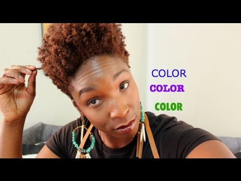 Hair COLOR Vlog, Pros & Cons, My Experience ( Type 4 Hair) - YouTube
