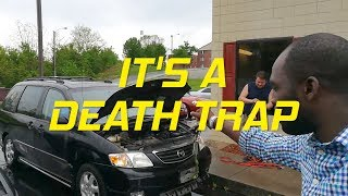 The Most Terrifying Minivan IN THE WORLD!!