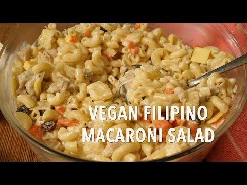 Vegan Filipino Macaroni Salad Recipe Easy Salad Recipes