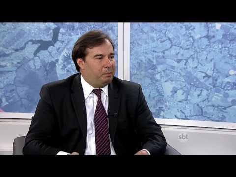 Kennedy Alencar entrevista o presidente da Câmara Rodrigo Maia - Parte 2