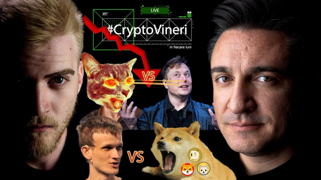 #CryptoVineri 21 - Corecție în piață, Elon vs Maximaliști, Vitalik vs Câini