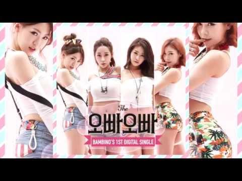 [MP3/DL] Bambino – 1st Digital Single 'OPPA OPPA'  (밤비노 – 오빠오빠)