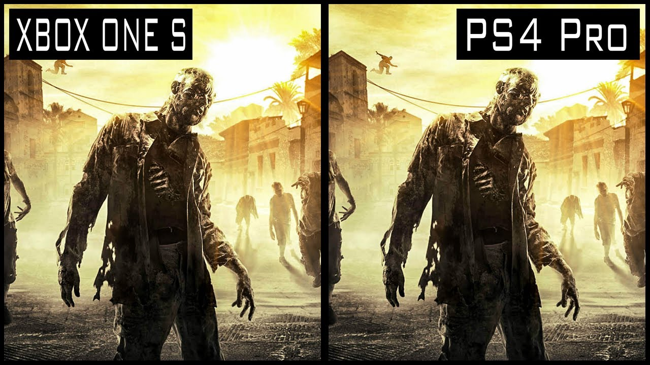 Dying Light PS4 Pro vs Xbox One s Graphics Comparison
