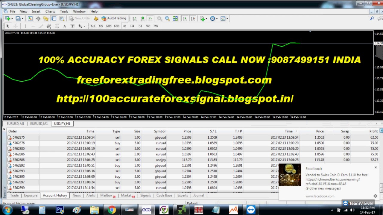 Forex signals now