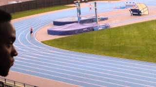 Dashing Whippet four by 400m relay at Icahn Stadium