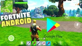 Fortnite for Android Available -  Beta Version Gameplay