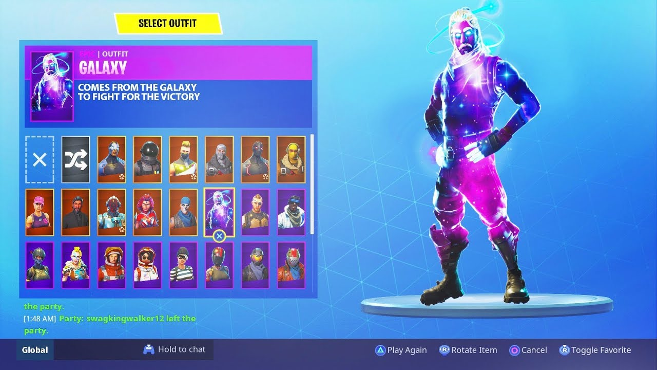 You can unlock the rare galaxy skin for free fortnite 1000 skin for free youtube - Fortnite galaxy skin free ...