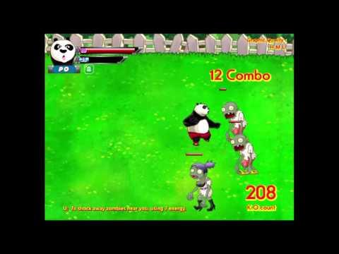 Chơi game Panda vs Zombie phần 1 - Game Vui