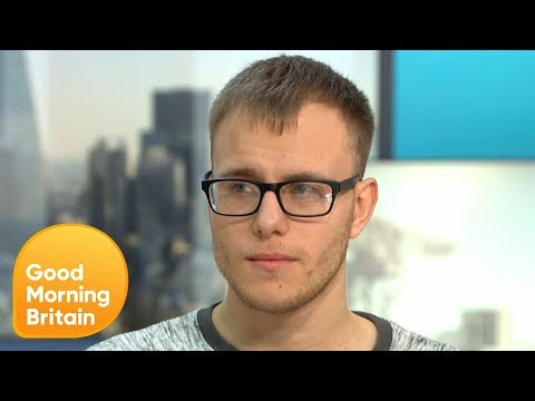 Alex Skeel Says He Was Waiting to Die in the Hands of His Abusive Girlfriend | Good Morning Britain