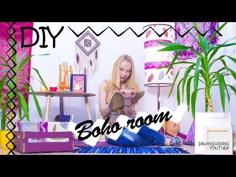 5 DIY Boho Room Decor Ideas – How To Make Your Room Bohemian and Hippie