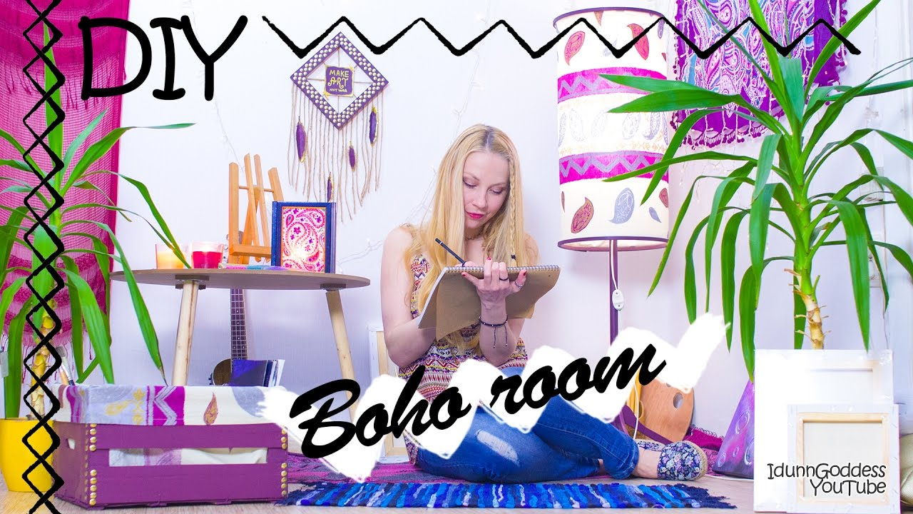 5 Diy Boho Room Decor Ideas How To Make Your Room Bohemian And