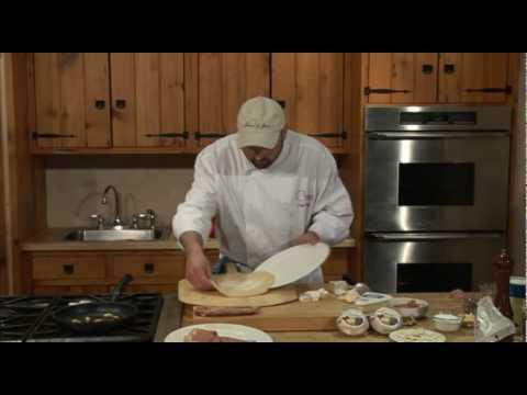 Brie Prosciutto Mushroom Pizza
