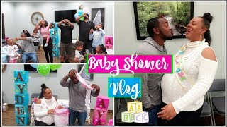 TWINS BABY SHOWER VLOG💙💖