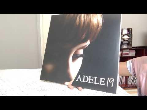 Adele 19 - vinyl unboxing