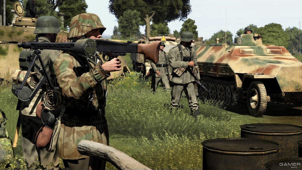 Very Realistic Shooter Game About Ww2 On Pc Simulator