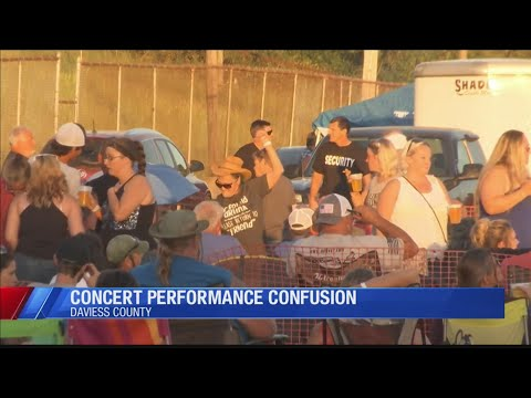 Concert Confusion In Daviess County