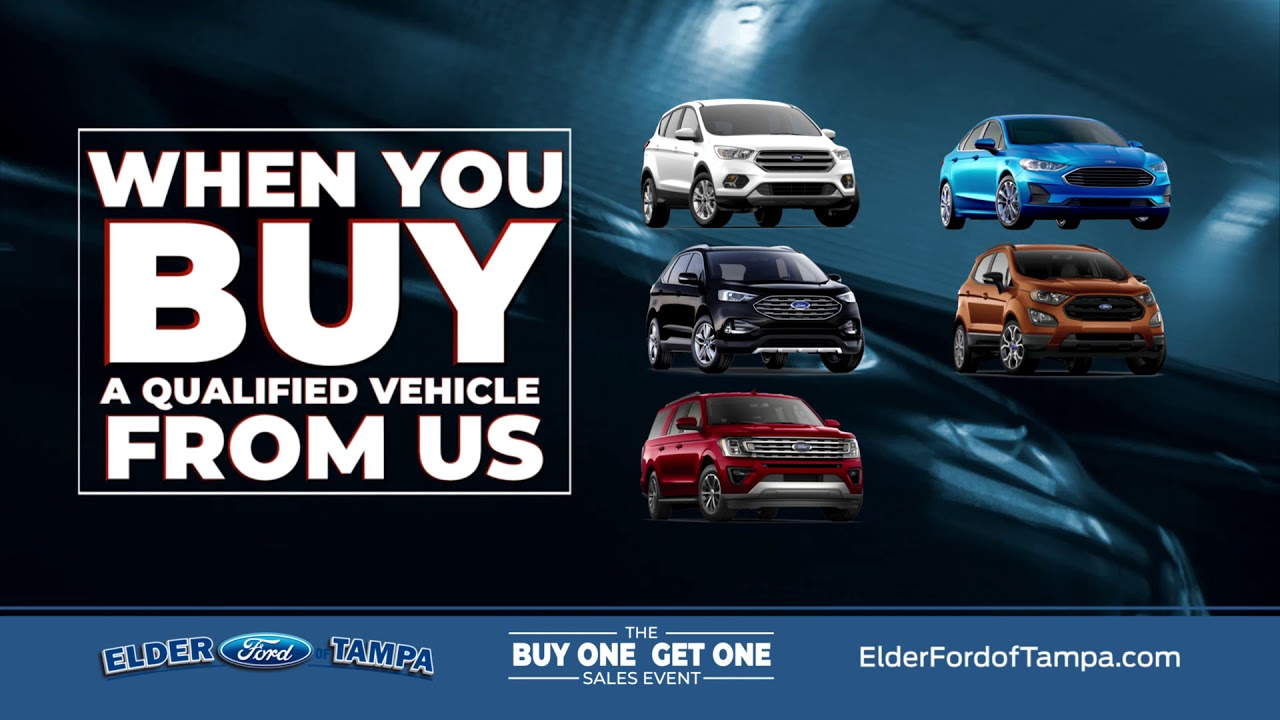 Bogo Car Deals >> The Bogo Is Back At Elder Ford Of Tampa