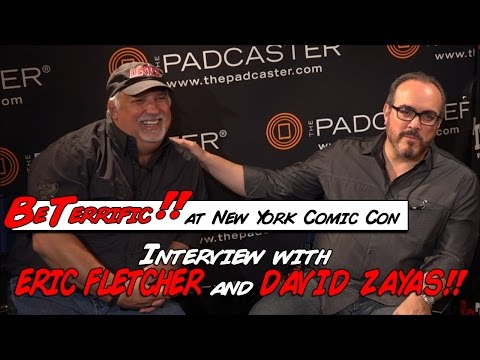 David Zayas and Eric Fletcher  at New York Comic Con!