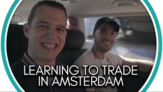 Learning to trade in Amsterdam  Military Training day 1