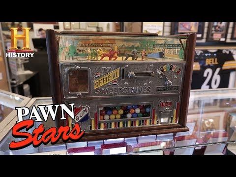 Pawn Stars: Rock-Ola Horse Race Gambling Machine (Season 15) | History