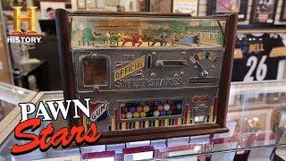 Pawn Stars: Rock-Ola Horse Race Gambling Machine (Season 15)   History