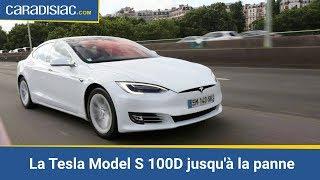 La Tesla Model S 100D jusqu