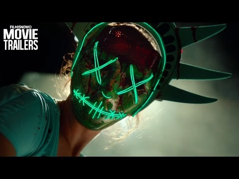 The Purge: Election Year ft. Elizabeth Mitchell - Official Trailer [2016 HD]