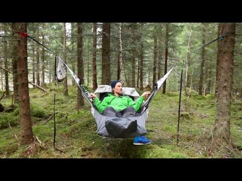 """UPDATED video: """"link in top right corner"""" Amok Equipment - Draumr™ camping hammock (introduction)"""