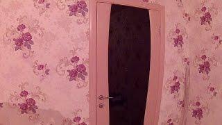 Дверь с черным стеклом и стразами Диамант-2(Межкомнатная дверь Regidoors Диамант 2 беленый дуб ..., 2015-12-28T19:03:37.000Z)