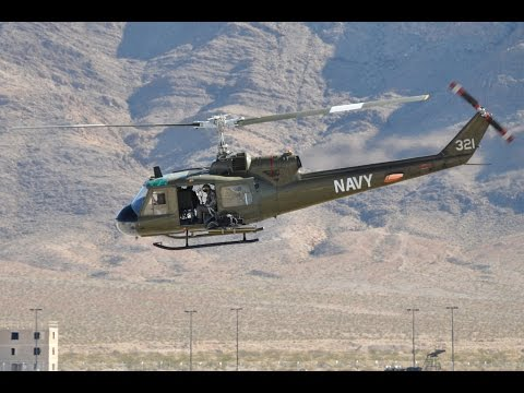 DCS World 2.0 Open Alpha - Nevada Huey emergency Autorotation landing