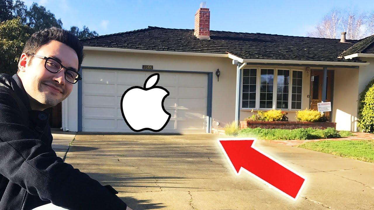 J 39 ai vu la maison de steve jobs cr ateur d 39 apple youtube for Createur de maison