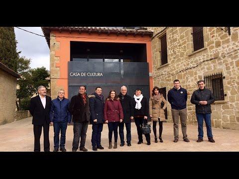 Jos ignacio ceniceros inaugura la casa de cultura de balos youtube - Casa de cultura ignacio aldecoa ...