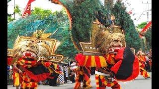 DADAK MERAK TARUNG Reog Ponorogo GIANT MASK Dance HD