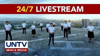 UNTV 247 STREAM News \u0026 Current Affairs Rescue Bayanihan Amidst COV D-19 Pandemic
